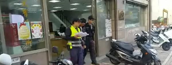警方獲報後不到3小時便逮到林姓嫌犯。(記者王宣晴翻攝)
