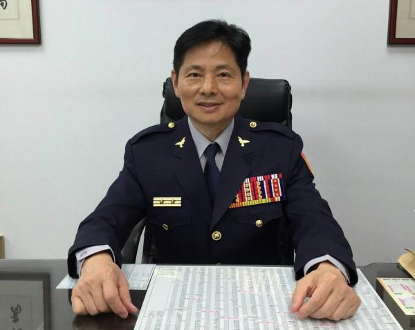 宜蘭縣警察局長詹永茂,與今天發布的新任嘉義市警局長詹永華是兄弟檔,相當罕見。(記者湯世名翻攝)