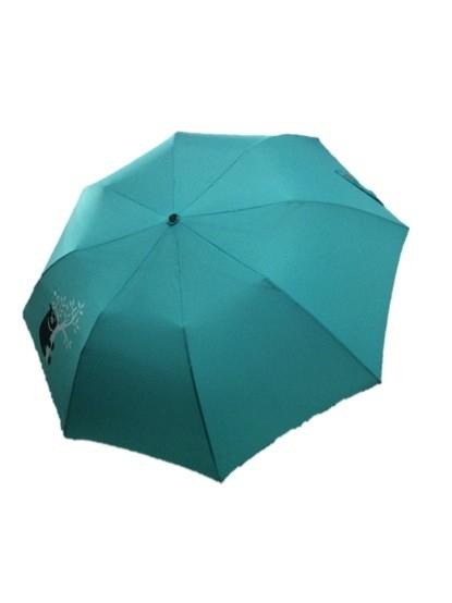 圖為中鋼今年送出的台灣黑熊傘。(記者羅倩宜攝)