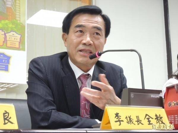李全教提出聲請,希望高院聲請解除限制出境,到中國爭取虱目魚契作合約。(資料照,記者洪瑞琴攝)