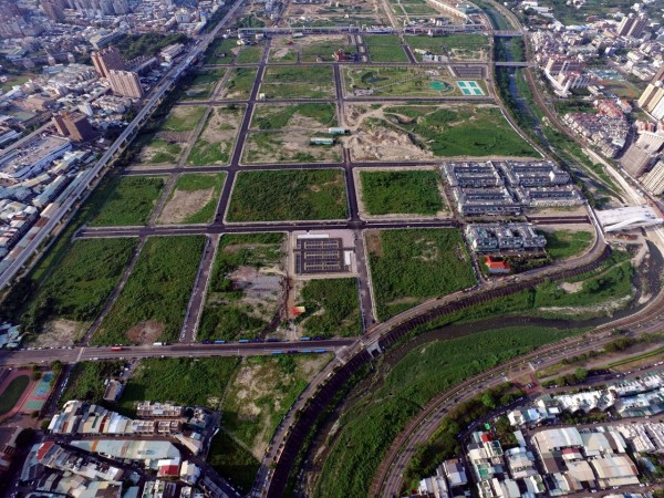 長春自辦重劃區面積約76公頃。(台中市政府地政局提供)