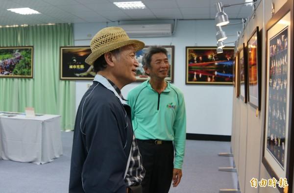 學甲藝文館將在本週五開館,首展「莊錦富攝影回顧展」。(記者楊金城攝)