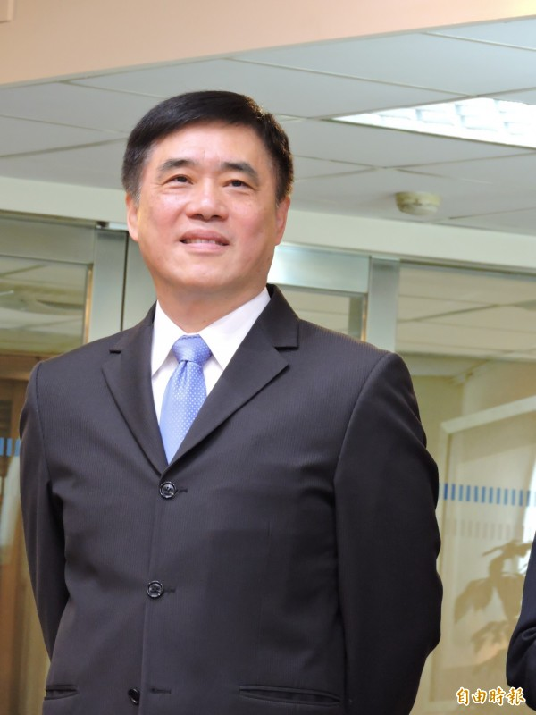 郝龍斌說他在擔任市長時,曾自己開車時遇酒駕臨檢。(記者何玉華攝)