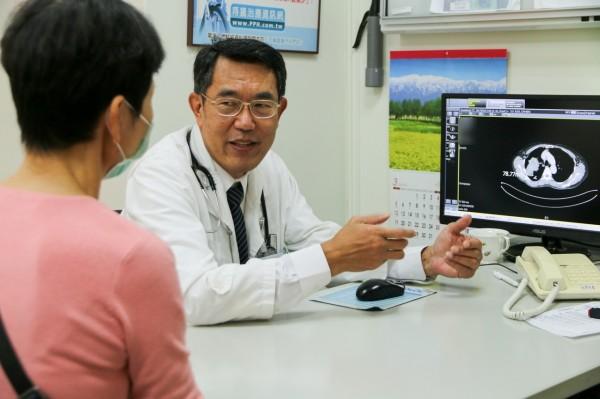 花蓮慈濟醫院胸腔心臟外科醫師張比嵩。(花蓮慈濟醫院提供)