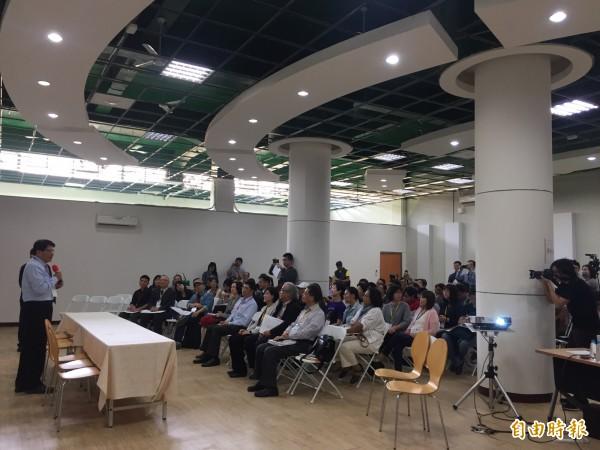 全國文化會議分區論壇今在屏東起跑。(記者羅欣貞攝)