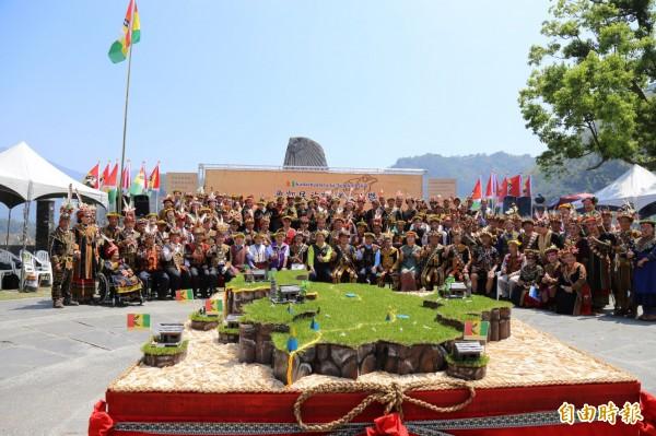 魯凱族原住民族議會今成立。(記者邱芷柔攝)
