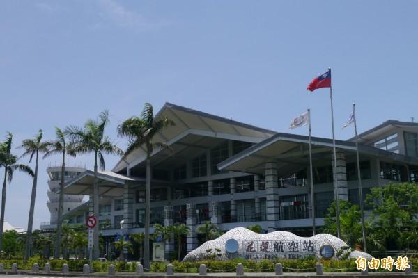 花蓮國際機場今年暑假將有飛曼谷的直航包機。(記者王錦義攝)