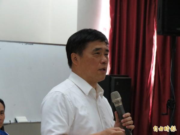 郝龍斌說,沒有2018就沒有2020,要組「市政顧問團」,協助縣市長候選人熟悉市政。(記者蘇金鳳攝)