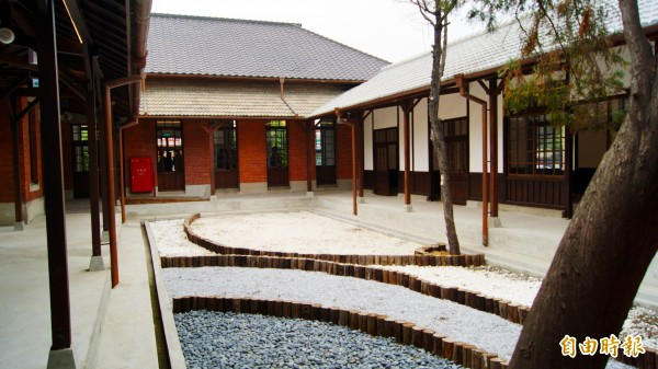 斗南警分局舊辦公室修復,結合文化特色,拿下園治獎。(記者林國賢攝)