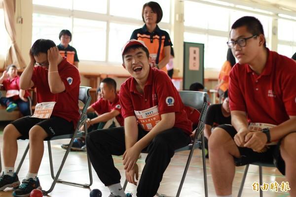 基金會也表示,希望透過活動辦理,能促進身障朋友的健康並增加社會參與及人際互動的機會。(記者邱芷柔攝)