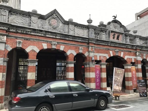 蘭室位於大溪區中山老街上,具有120年歷史。(都發局提供)