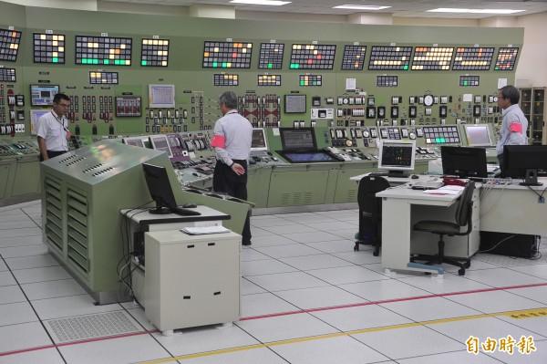 電廠控制中心網路為內部網,不會受到病毒攻擊,不至於影響電廠運作。(記者蔡宗憲攝)