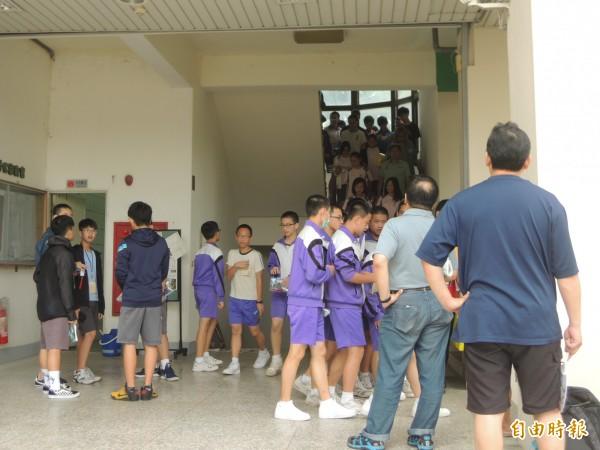 國中會考今起舉行2天,新竹縣有5所高中設置考場,共6290名考生。 (記者廖雪茹攝)