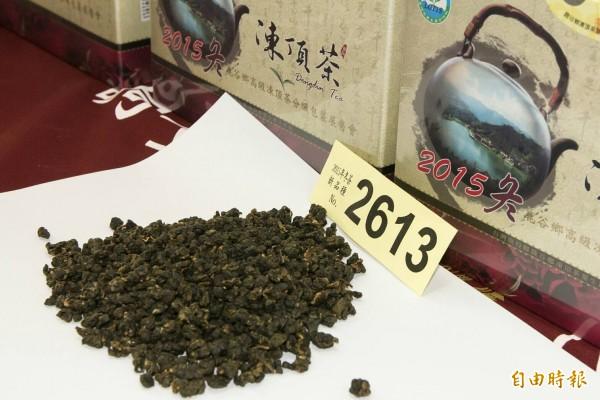 越南茶外觀很難判斷與台灣茶有何不同。(記者陳鳳麗攝)
