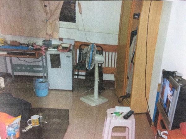 邱男疑似因為注射毒品死亡,租屋處呈現密閉,但是警方卻找不到針頭。(記者王捷翻攝)