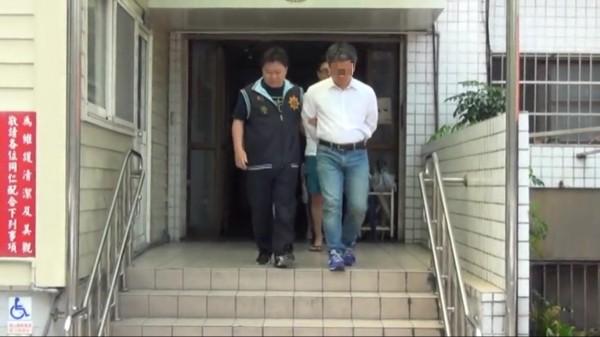 邱太煊涉嫌組織犯罪、恐嚇取財、強盜等罪嫌被移送法辦。(記者曾健銘翻攝)