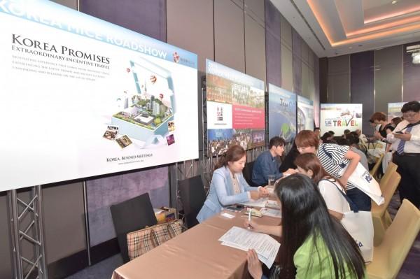 韓國獎勵旅遊交流展今年7月在北高兩地登場。(韓國觀光公社提供攝)
