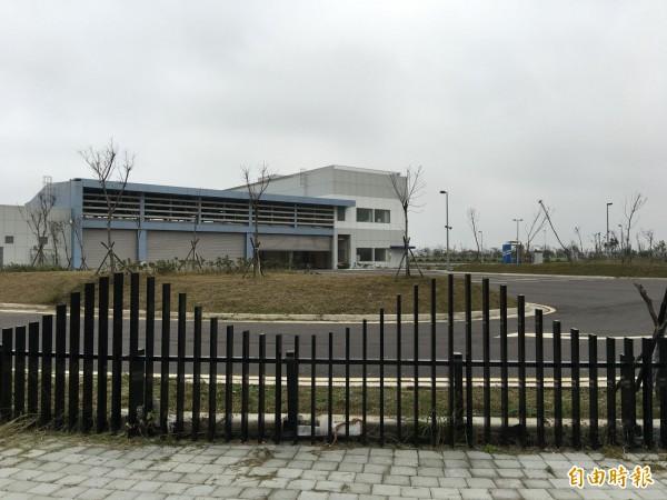 BRT維修機廠將改由消防局進駐。(記者黃鐘山攝)