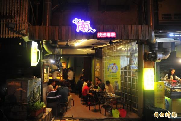 小南人坐落在中西區,不過位置不明顯,店內只有10來個座位。(記者王捷攝)
