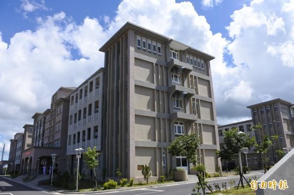 三軍聯訓基地仁壽營區未來可容納超過1200人。(記者蔡宗憲攝)