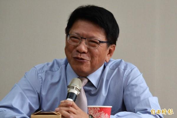 屏東縣長潘孟安同意承辦2019台灣燈會。(記者侯承旭攝)