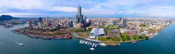 高雄的亞洲新灣區,是產業轉型契機。(取自立委賴瑞隆臉書)