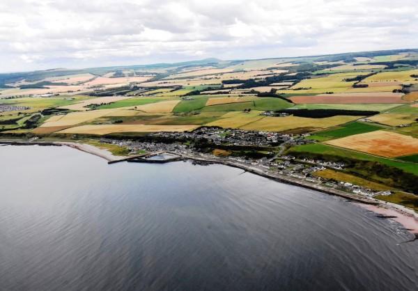 CIP在英國外海設置的離岸風場運維碼頭。(圖彰化縣政府提供)
