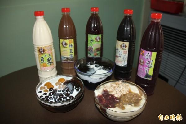 財之林豆花是傳香三代的好味道。(記者陳彥廷攝)