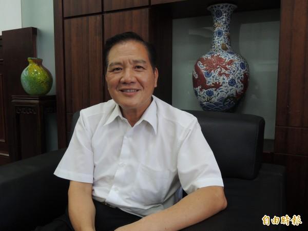 國民黨新竹市黨部舉行的市長選舉預選民調將在24至26日舉行第三次,參與民調的包括前市長許明財。(記者洪美秀攝)