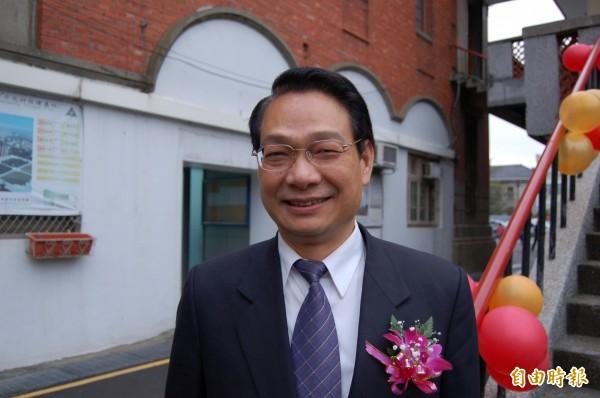 國民黨新竹市黨部進行黨內市長選舉預選民調,24至26日將進行第三次民調,前立委呂學樟也是參與民調的人選之一。(記者洪美秀攝)