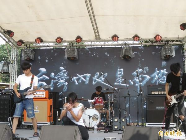 訴求「台灣內地是南投」的內地搖滾音樂祭,今年雖停辦,但轉型改推內地小搖滾。(資料照,記者劉濱銓攝)