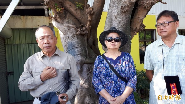 考古學者劉益昌(左)說台東是史前南島語族向外擴散的起點。(記者黃明堂攝)