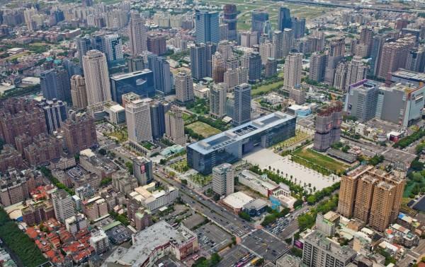 台中被列為世界三線城市,在國內排名僅次於台北。(台中市政府提供)