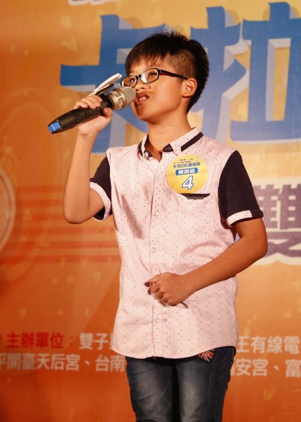 國語組第三名李偉聖,年僅11歲。(主辦單位提供)