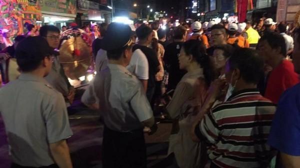 市長謝淑亞也到現場關心。(記者詹士弘翻攝)