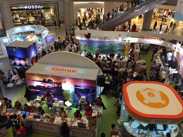 南市今年首度參與新加坡NATAS秋季旅展,開拓新的觀光客源。(擷自臉書)