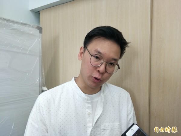 太陽花學運領袖林飛帆表示,希望時代力量能在台南茁壯。(記者邱灝唐攝)