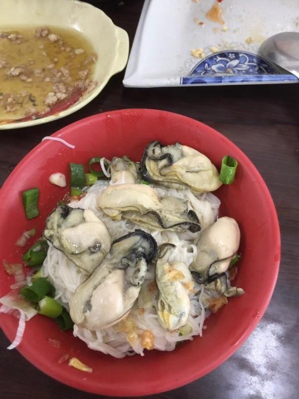 李孟諺官方臉書PO的蚵仔麵線,分享好吃到非推不可。(擷自臉書)