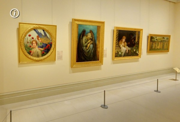 百看不厭的作品,在奇美博物館的網店都能透過虛擬實境看見。(記者黃文瑜翻攝)