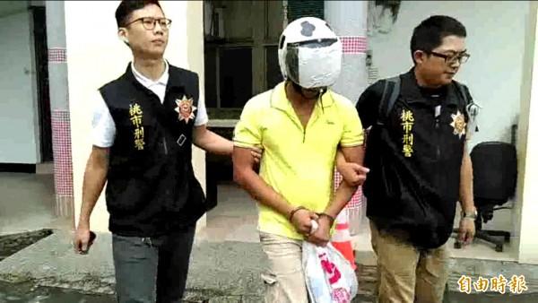曾男涉嫌持鐵棍打死合夥人,由警方依殺人及湮滅證據罪移送法辦。(記者李容萍攝)