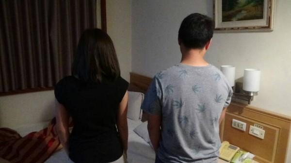 年輕泰女來台賣淫被查獲。(記者楊政郡翻攝)
