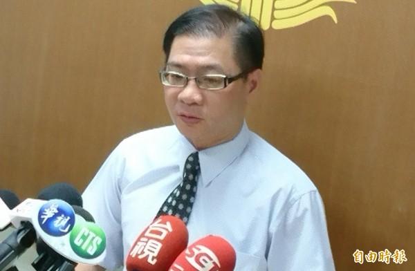 屏東地檢署主任檢察官林俊傑表示,葉文祥已啟用防逃機制。(記者葉永騫攝)