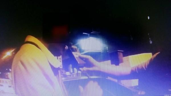 黃男酒測值高達1.66毫克,嚴重超標。(記者許國楨翻攝)