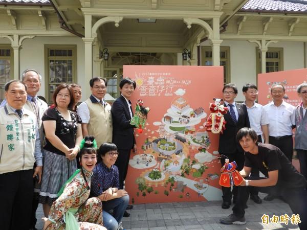 原台南廳長官邸古蹟,配合今年文化資產月活動,正式開放亮相。(記者洪瑞琴攝)