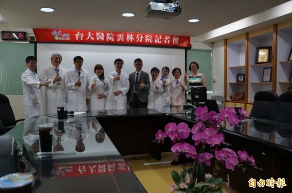 台大雲林分院是雲林唯一可打國際疫苗的醫療院所,旅遊醫學門診醫師陣容堅強。(記者詹士弘攝)