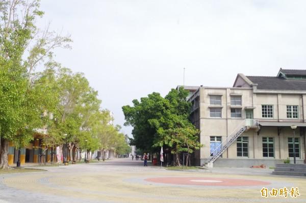嘉義文化創意產業園區15、16日將舉辦桃城夜祭。(記者王善嬿攝)