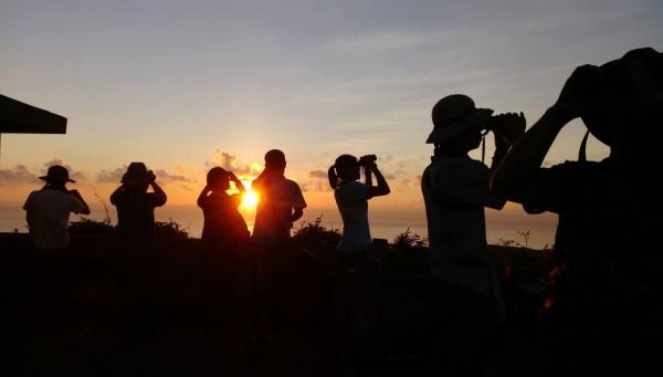 墾管處委託猛禽研究會從9月1日開始進行「秋季過境猛禽調查」。(記者蔡宗憲翻攝)