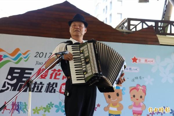2017礁溪溫泉盃櫻花陵園馬拉松嘉年華將有優美的音樂演出。(記者林敬倫攝)
