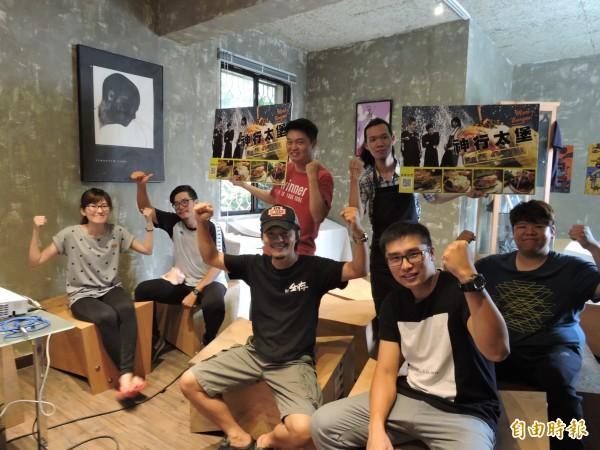 「水罐子職學孵化中心」是由一群相當有理念的青年成立,主要是協助想要找自己感興趣工作就業的青少年圓夢。(記者蘇金鳳攝)
