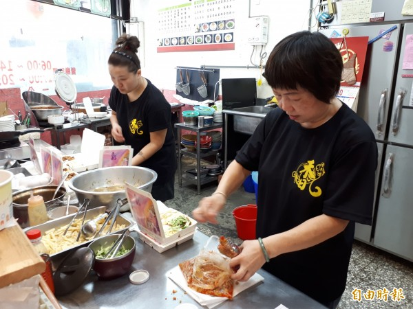 新竹市位在北門街的禾日香魯肉飯獲選「竹好呷」美食。(記者洪美秀攝)